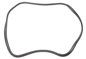 Porsche Back Glass Seal w/ Trim Frame Groove, 911 & 912