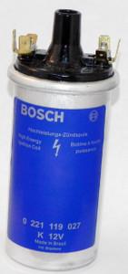Porsche Coil, 12V, High Power, Bosch, New