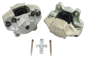 Porsche Disc Brake Caliper, Front Right, Remanufactured, Solid Rotors, M Series