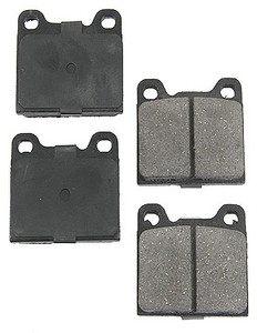 Porsche Disc Brake Pads, Ceramic, Rear,  356C, 911, 912, 914,