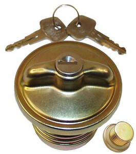 Porsche Fuel Tank Cap, W/Keys Locking, 911 ' 74 - ' 83 & 912E