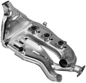 Porsche Heat Exchanger,Left,MFI Engines,911 '66-'75,Dansk,Stainless Steel