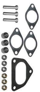 Porsche Heater Exchanger Mounting Kit, With Gasket, Screws, & Bolts, 911 2.7,3.2, '76-'82