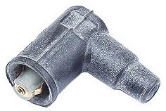 Porsche Spark Plug Wire Connector 90 Degree, Coil w/o Post, All 356, 912, 914