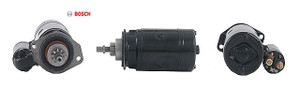 Porsche Starter Motor, Bosch Remanufactured New, 12v, 911, 912, 914