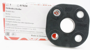 Flexible Disc Steering Coupler, German Febi, Porsche 356A & 356B