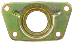 Porsche Torsion Bar Cover/Wheel Bearing Cover, Dansk OEM Quality, 911 '65-'89,912 '65-'69, 930 '75'-