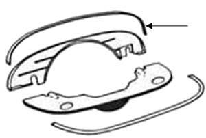 Seal, Engine Shroud, All 356's