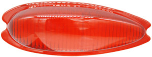 Tail Light Lens,Teardrop Red,Left,356A,356B,356C