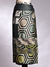 Sage Hexagon Wrapskirt
