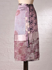 Lilac Wrap Skirt