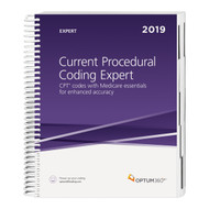 Turn to the resource that goes beyond basic coding with the Current Procedural Coding Expert, your CPT® coding resource.  Equipped with the entire 2019 CPT® code set with easy-to-use coding includes and excludes notes for coding guidance and Medicare icons for speedy coding, billing, and reimbursement, this easy-to-navigate resource will benefit physician practices, outpatient hospitals, and ASCs.