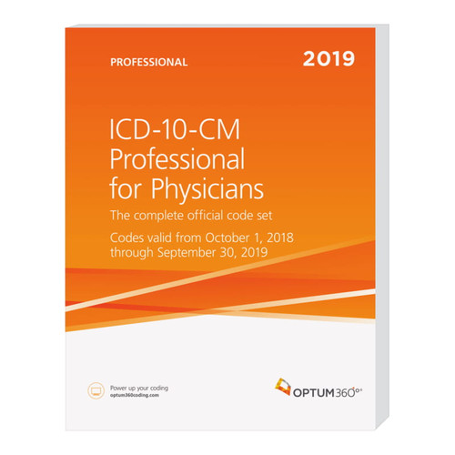 The ICD-10-CM Professional for Physicians with our hallmark features and format makes facing the challenge of accurate diagnosis coding easier. Developed specifically to meet the needs of physicians, the Optum360 codebook contains the complete ICD-10-CM code set which is the cornerstone for establishing medical necessity, determining coverage, and ensuring appropriate reimbursement. Now with a new symbol in the tabular for codes associated with CMS quality payment program (QPP) measures and a symbol to identify codes associated with CMS hierarchical condition categories (HCC) used in risk adjustment (RA) coding.