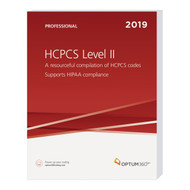 Accurately report supplies and services for physician, hospital outpatient, and ASC settings with the 2019 HCPCS Level II Expert. Use this comprehensive reference for the HCPCS code set that focuses on management of reimbursement. This user-friendly book will guide any coder confidently through current modifiers, code changes, additions and deletions with information as dictated by the Centers for Medicare and Medicaid Services (CMS).
