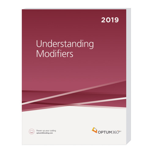 Understanding Modifiers uses actual medical records to outline in detail how to document services and apply the correct modifiers. This book was developed as an educational tool for physicians and their staff, as well as billers and coders of hospital outpatient services and ASC services.