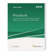To save time, eliminate confusion, and improve coding proficiency, turn to the Procedural Cross Coder. An ideal resource for inpatient facility coding, this all-in-one resource crosswalks ICD-10- PCS procedure codes to CPT® and HCPCS Level II codes, allowing the user to analyze data across coding systems.