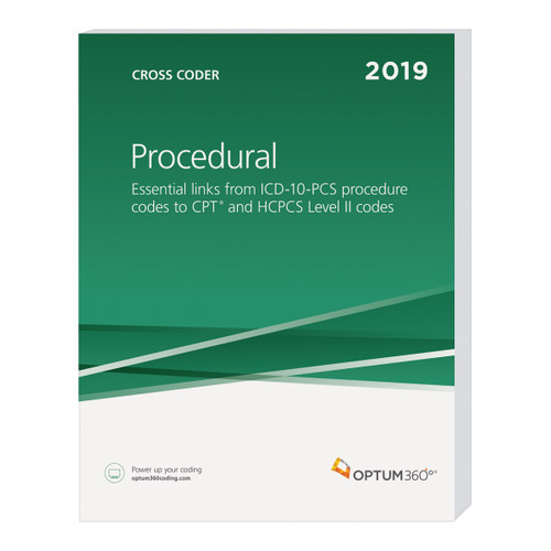 To save time, eliminate confusion, and improve coding proficiency, turn to the Procedural Cross Coder. An ideal resource for inpatient facility coding, this all-in-one resource crosswalks ICD-10-PCS procedure codes to CPT® and HCPCS Level II codes, allowing the user to analyze data across coding systems