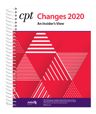For a better understanding of the latest revisions to the CPT® code set, rely on the best-selling CPT® Changes 2020:  An Insider's View. Find the meaning behind all of the changes included in the AMA's CPT® 2020 Professional Edition codebook. Invest in this annual publication and get the insider's perspective into the CPT code set directly from the source—the American Medical Association.