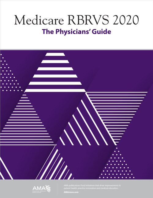 The 29th edition of Medicare RBRVS: The Physicians' Guide provides the much-needed updated information on the new 2020 Medicare Physician Payment Schedule, payment rules, conversion factor, CPT and HCPCS RVUs, and GPCIs that affect the physician practice.