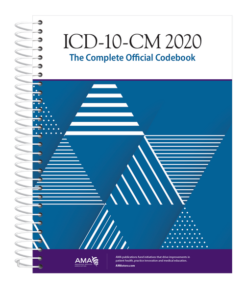ICD-10-CM 2020: The Complete Official Codebook provides the entire updated code set for diagnostic coding, organized to make the challenge of accurate coding easier.