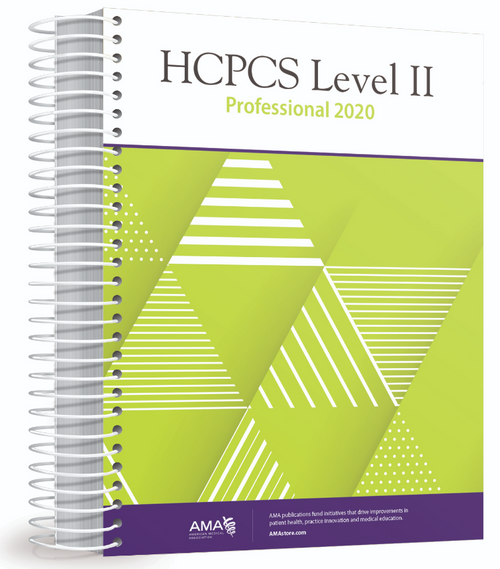 Organized for quick and accurate coding, HCPCS Level II 2020 Professional Edition codebook includes the most current Healthcare Common Procedure Coding System (HCPCS) codes and regulations, which are essential references needed for accurate medical billing and maximum permissible reimbursement.