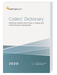 Unlike other medical dictionaries, the Coders' Dictionary helps you understand healthcare terminology from a coding and revenue perspective. This unique dictionary was developed to meet the specific needs of medical coders, HIM professionals, billing and reimbursement specialists, analysts, students, adjudicators and more.