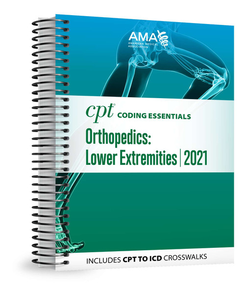 Optimized for medical necessity and reimbursement understanding, this all-in-one resource focuses on the most important CPT® and HCPCS codes for lower extremity orthopedics, plus medicine and ancillary services  codes chosen by experts who have taken into consideration utilization, denial risk and complexity.