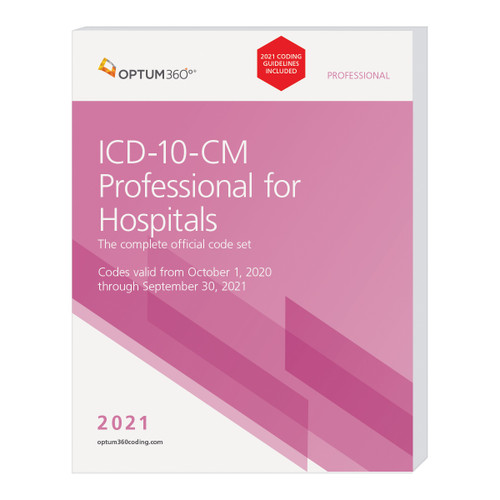 The ICD-10-CM Professional for Hospitals, with 2021 Guidelines, with our hallmark features and format, makes facing the challenge of accurate diagnosis coding easier for acute care and long-term care hospitals (LTCH). This code book contains the complete ICD-10-CM code set, MCEs, and ICD-10 MS-DRG edits with symbols identifying codes for comorbidities/complications (CC) and major comorbidities/complications (MCC). Also identified are hospital acquired conditions (HAC) and CMS hierarchical condition categories (HCC).