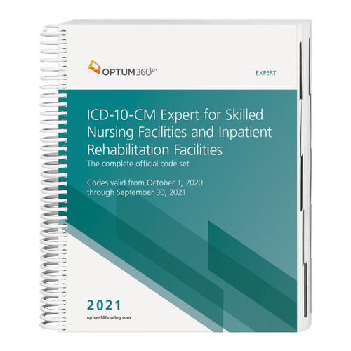 The ICD-10-CM Expert for Skilled Nursing Facilities and Inpatient Rehabilitation Facilities, with early delivery, uses our hallmark features and format, making facing the challenge of accurate diagnosis coding easier. This code book contains the complete ICD-10-CM code set with Optum360 coding and reimbursement alerts for SNF and IRF, including color-coding and symbols identifying diagnoses for components of the Patient-Driven Payment Model (PDPM) and RIC. Coding tips and definitions of commonly treated conditions specific to these PAC settings are also included. Guaranteed delivery before October 1, 2020. The timing of the CMS release of the Official Guidelines for Coding and Reporting might not allow for early delivery. Therefore, this early delivery version might contain the 2020 guidelines. A booklet containing the Official Guidelines for Coding and Reporting for 2021 will be shipped separately if the 2021 guidelines are not available at the time this edition goes to press.