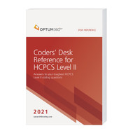 Coders at all experience levels may have questions when the 2021 HCPCS code changes go into effect, and the Coders' Desk Reference for HCPCS Level II is the book to keep close by to find the answers needed. With this one-of-a-kind, comprehensive resource on all the codes for 2021, users can reduce coding errors and improve coding confidence by referencing more than 2,000 HCPCS code lay descriptions, find answers to frequently asked questions, and obtain other helpful guidance before assigning a code.