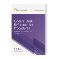 The Coders' Desk Reference for Procedures is a comprehensive resource for all 2021 CPT® codes. This all-inclusive tool helps identify the minute differences between, and components of, similar CPT® codes. You will code more accurately from operative reports and produce cleaner claims the first time by improving your understanding of the clinical meanings behind the codes and checking billing and coding information for Medicare.