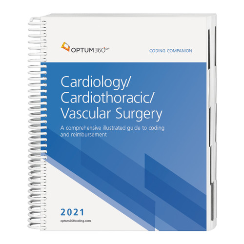 Consolidate the coding process with the Coding Companion, your one-stop coding resource developed exclusively for cardiology, cardiothoracic, and vascular surgery specialties. This comprehensive and easy-to-use guide is updated for 2021 and organized by specialty-specific CPT® codes. Each CPT® code includes its official code description and lay description, coding tip, Medicare edits, and relative value units and is cross-coded to common ICD-10-CM diagnosis codes to complete the coding process. Getting to the code information you need has never been so easy.