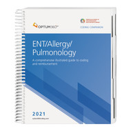 Consolidate the coding process with the Coding Companion, your one-stop coding resource developed exclusively for ENT, allergy, and pulmonology. This comprehensive and easy-to-use guide is updated for 2021 and organized by specialty-specific CPT® codes. Each CPT® code includes its official code description and lay description, coding tip, Medicare edits, and relative value units and is cross-coded to common ICD-10-CM diagnosis codes to complete the coding process. Getting to the code information you need has never been so easy.