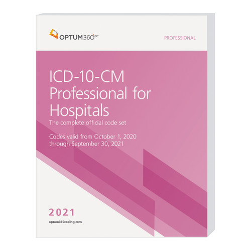 The ICD-10-CM Professional for Hospitals, with Early Delivery, uses our hallmark features and format, making the challenge of accurate diagnosis coding easier for acute care and longterm care hospitals (LTCH). This code book contains the complete ICD-10-CM code set, MCEs, and ICD-10 MS-DRG edits with symbols identifying codes for comorbidities/complications (CC) and major comorbidities/complications (MCC). Also identified are hospital acquired conditions (HAC) and CMS hierarchical condition categories (HCC). Guaranteed delivery before October 1, 2020. The timing of the CMS release of the Official Guidelines for Coding and Reporting might not allow for early delivery. Therefore, this early delivery version might contain the 2020 guidelines. A booklet containing the Official Guidelines for Coding and Reporting for 2021 will be shipped separately if the 2021 guidelines are not available at the time this edition goes to press.