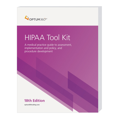 Designed to help providers implement HIPAA rules and regulations, HIPAA Tool Kit is an ideal resource for creating a new compliance program or conducting a compliance assessment. Includes customizable policies and procedures for HIPAA privacy, security and transactions requirements, and a comprehensive HIPAA encyclopedia covering topics such as the recent Breach Notification rules and risk assessment reporting. Remember: you get our downloadable HIPAA Customizable Compliance Plan free when you purchase the HIPAA Tool Kit.