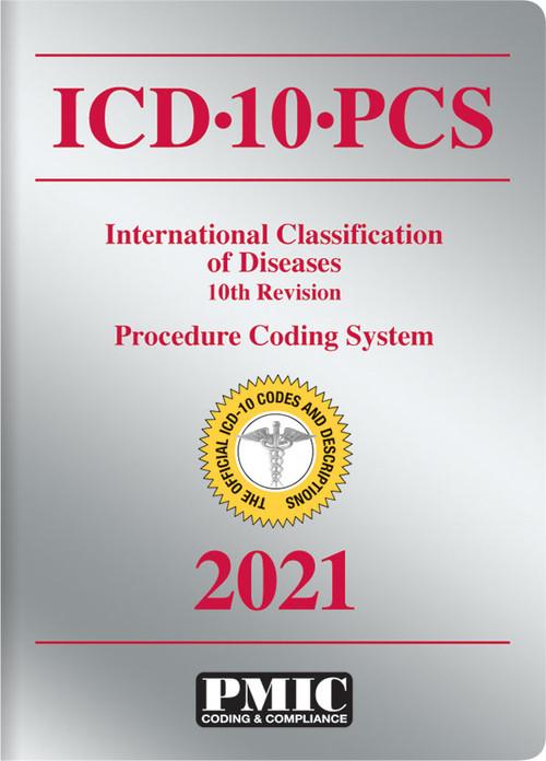 ICD-10-PCS 2021 BOOK/SOFTBOUND