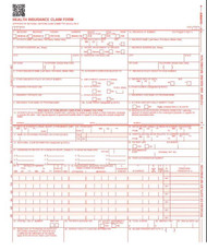 Our form is the official CMS 1500 claim form (new version) 02/12, 5,000 Count (2 boxes) laser. This is the form that non-institutional providers and suppliers should use to bill Medicare, payers and insurance companies,