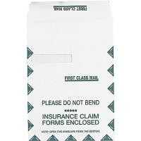 UB04 Claim Form envelope 9x12 single window left side 500 count