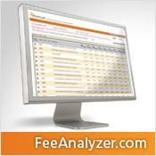 FeeAnalyzer.com is an online subscription service that provides access to relative and actual physician charge data for a specific geographic area and specialty. These are the fees the competition is charging. The data is updated quarterly and e-mail alerts will be sent to the subscriber when the most recent reports and fees have been refreshed. This powerful data source makes it easier for physicians to set defensible fees while maximizing revenues.