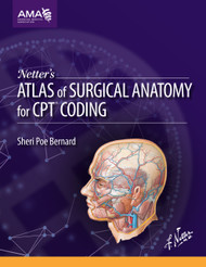 An invaluable resource for CPT® surgical coding with integrated anatomical instructions and illustrations. No other book brings anatomic and coding concepts together with the same degree of completeness and educational value.  This brand new publication from the AMA unites annotated CPT surgical codes and descriptions with clinically significant renderings by renowned medical illustrator, Frank H. Netter, MD, to simplify the navigation through complex operative reports for CPT code abstraction. This is an ideal tool to boost anatomical knowledge within the context of CPT codes.