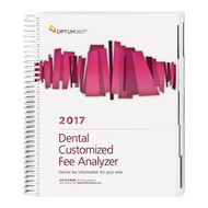 Dental Customized Fee Analyzer provides dentists and oral surgeons with a customized report for their specific geographic area and the CPT® and CDT codes most frequently used in a dental and/or OMS practice. Under-priced fees can cost a practice thousands of dollars each year. To set the most appropriate fees, you need specific information for your geographic locality, as fees vary widely across the country. Relying on national averages can result in reimbursement that is too low or billable charges that are too high.This resource will provide defensible data when revising your fee schedule, negotiating contracts, and conducting competitive analysis.