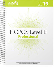 Organized for quick and accurate coding, HCPCS Level II 2019 Professional Edition codebook includes the most current Healthcare Common Procedure Coding System (HCPCS) codes and regulations, which are essential references needed for accurate medical billing and maximum permissible reimbursement.