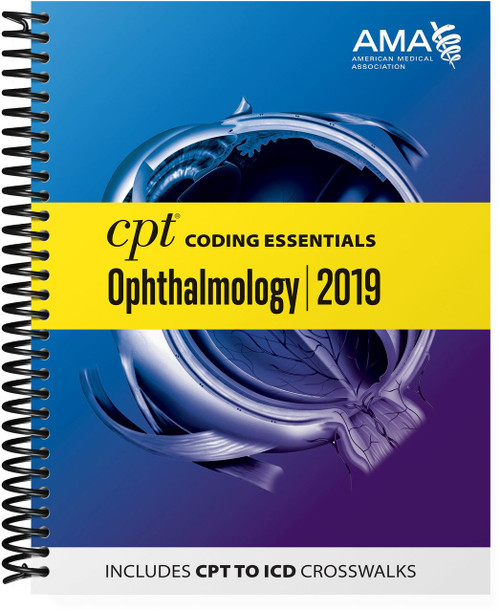 Optimized for medical necessity and reimbursement understanding, this all-in-one resource focuses on the most important CPT and HCPCS codes for ophthalmologic surgeries, plus medicine and ancillary services codes chosen by experts who have taken into consideration utilization, denial risk and complexity. CPT® Coding Essentials optimizes both CPT and ICD-10 code selection with helpful CPT-to-ICD-10-CM crosswalks and
