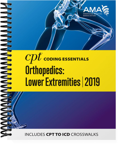 Optimized for medical necessity and reimbursement understanding, this all-in-one resource focuses on the most important CPT and HCPCS codes for lower extremity orthopedics, plus medicine and ancillary services codes chosen by experts who