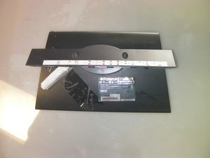 "POLAROID 26"" TV Stand / Base TDX-02610B (Screws Not Included)"