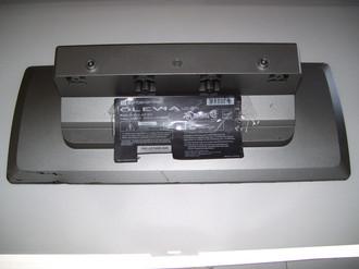 OLEVIA 427-S12 TV Stand / Base (No Screws)