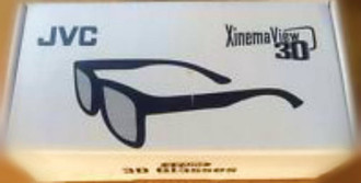 JVC XINEMA VIEW 3D GLASSES