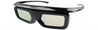 Sharp KOPTLA006WJN/ AN-3DG40 Active 3D Glasses - 2 Pair