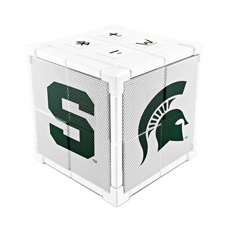 Wiseways Kube Bluetooth Collegiate Speaker for Michigan State University Spartans