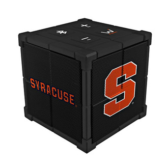 Wiseways Kube Bluetooth Collegiate Speaker for Syracuse University State University Spartans